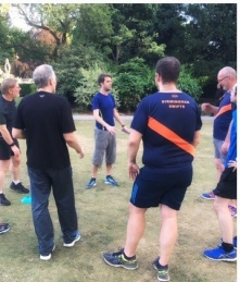 Running technical session